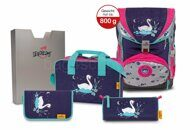 Школьный ранец DerDieDas ErgoFlex Exclusive Superflash 800-Swan Princess 8405125
