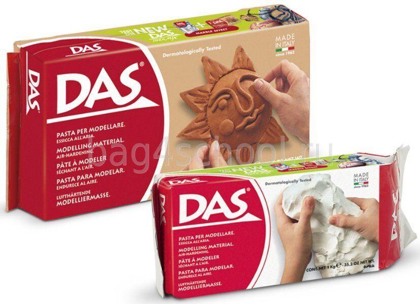 DAS - Fila модельная масса для лепки глина в интернет-магазине Школьный Ранец