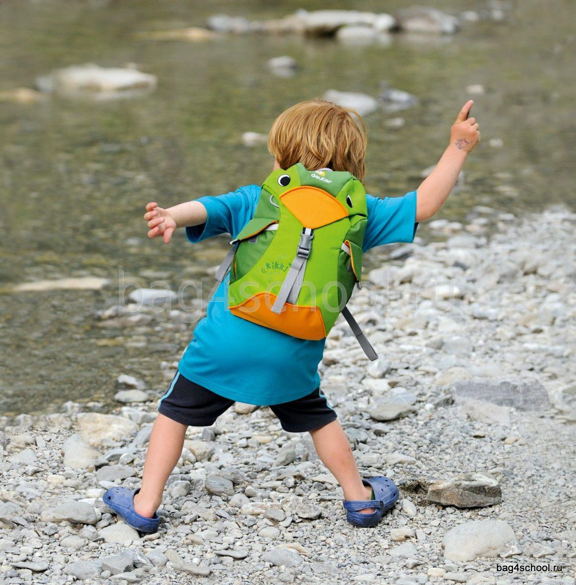 Детский рюкзак Deuter Kikki - Magenta Blackberry 36093-5505-1