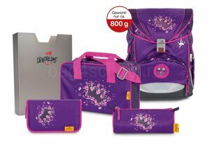 Школьный ранец DerDieDas ErgoFlex 800-Purple Princess 8405106