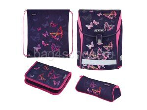 Школьный ранец Herlitz Midi Plus - Rainbow Butterfly 50027613