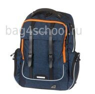 Рюкзак Walker WIZZARD Academy Dark Blue Melange 42119/178