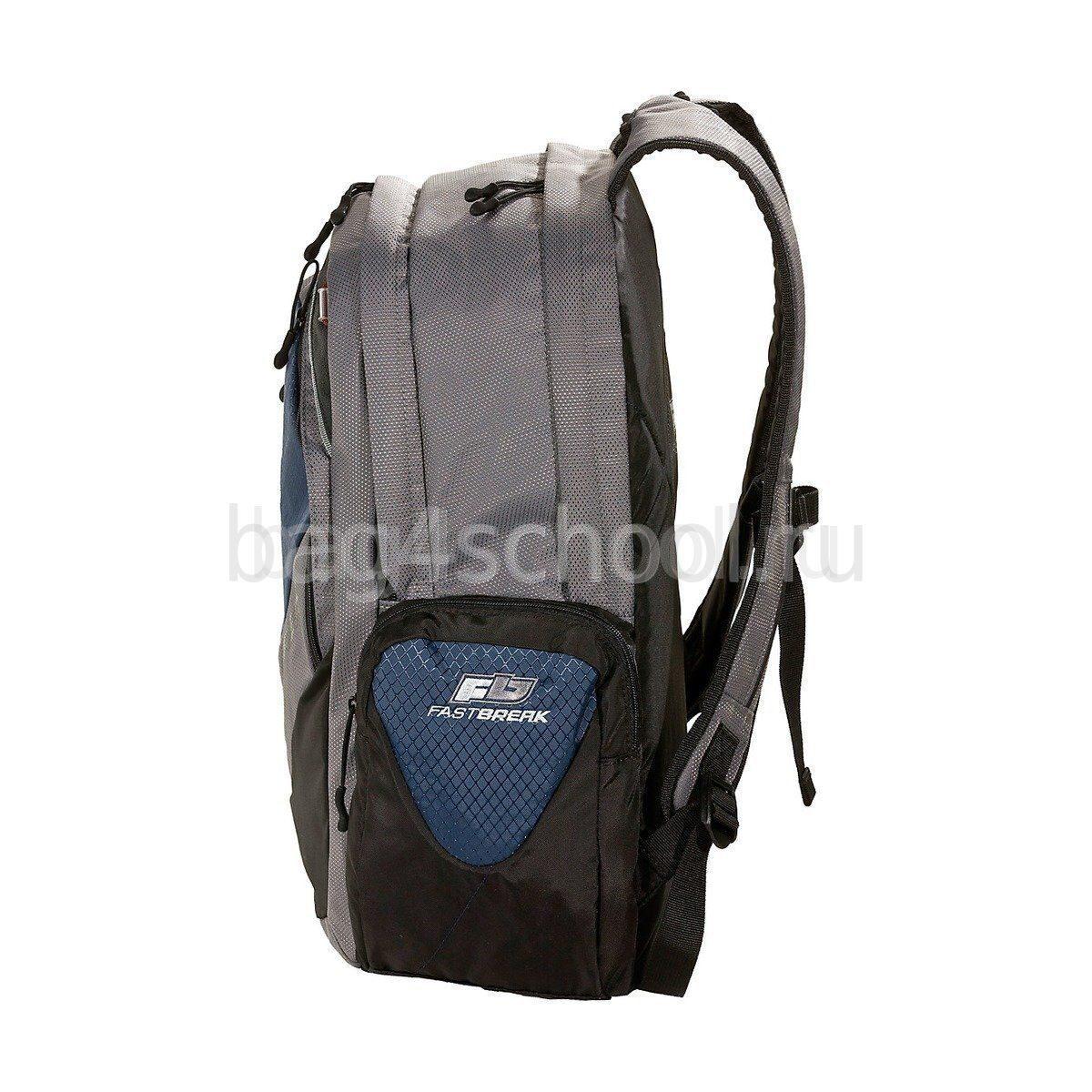 Рюкзак Fastbreak-Underbar серый/тёмно-синий 127600-257